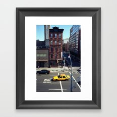 New York Story Framed Art Print