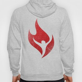 Better Off Damned - Flame Insignia  Hoody