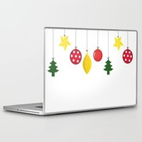 xmas Laptop & iPad Skins featuring Xmas by Azadeh Navabi
