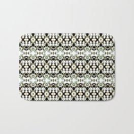 Abstract Ethnic Camouflage Bath Mat