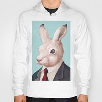 rabbit Hoodies featuring Rabbit by Animal Crew