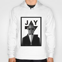 jay z Hoodies featuring JAY-Z by olivier silven
