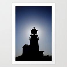 Light. House. Art Print