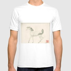 Year of the Horse Mens Fitted Tee White MEDIUM