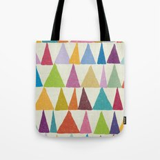 Analogous Shapes In Bloom. Tote Bag