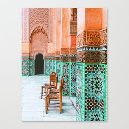 Wandering through marrakech Canvas Print