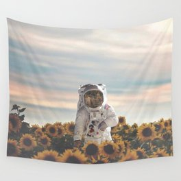 The Sunflower Galaxy, Messier 63 Wall Tapestry
