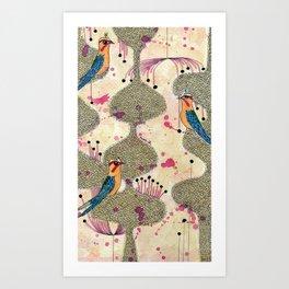 tweets Art Print