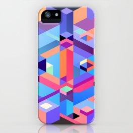 Cubic Inversion II iPhone Case