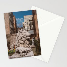 Elizabeth Street Garden III Stationery Cards