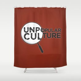 """""""Looking for Answers"""" Unpopular Culture Shower Curtain"""