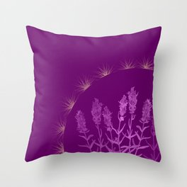 Hyssop Crown Throw Pillow