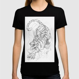 ZODIACS // TIGER GREY T-shirt