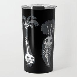 X-rays vegetables (black background) Travel Mug