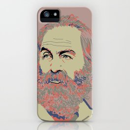Walt Whitman iPhone Case