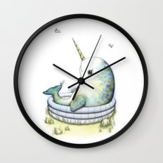 Lazy Summer Day Wall Clock