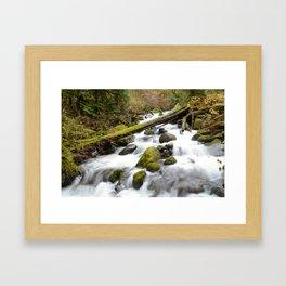 Color Wash Framed Art Print