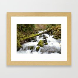 Color Wash Framed Art Print