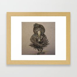 New Crow Framed Art Print