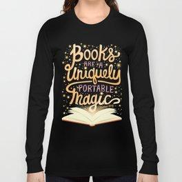 Books are magic Long Sleeve T-shirt