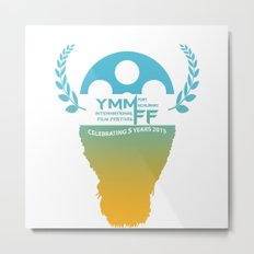 YMMiFF 2015 - BUFFALO HEAD DESIGN Metal Print