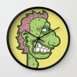 Bumpy by Kevin Berquist Wall Clock