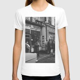 Rue des Rosiers, in het centrum van de Joodse wijk Le Marais, Bestanddeelnr 254 0552 T-shirt