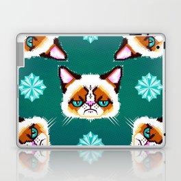Grumpy Cat Geometric Pattern Laptop & iPad Skin