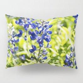 Texas Bluebonnet Up Close Pillow Sham