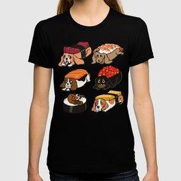 Sushi  Basset Hound T-shirt