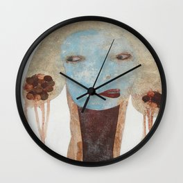 Carry That Weight Wall Clock