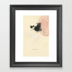 Hover in Pink Framed Art Print