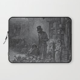 Gustave Dore: Houndsditch Laptop Sleeve