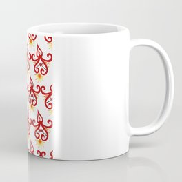 Firery Sprite Pattern Coffee Mug
