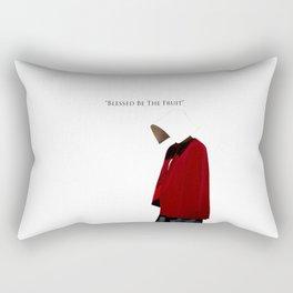 Blessed Be The Fruit Rectangular Pillow