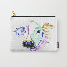Colourful Cow Carry-All Pouch