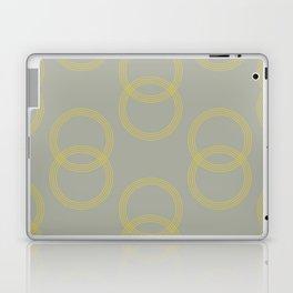 Simply Infinity Link Mod Yellow on Retro Gray Laptop & iPad Skin