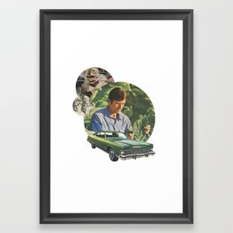 Mens series: the juggle Framed Art Print