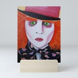Mad Hatter Painting Mini Art Print