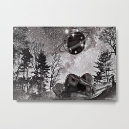 SHE'S SO COLD Metal Print