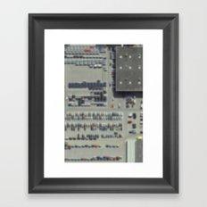 Carpark Framed Art Print