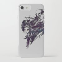 raven iPhone & iPod Cases featuring Raven by Ryky