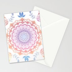 BOHO HAMSA MANDALA Stationery Cards