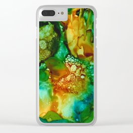 Emerald Impressions Clear iPhone Case