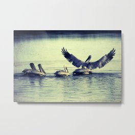 Spread Your Wings Metal Print