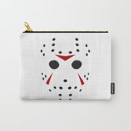 Serial killer hockey mask Carry-All Pouch