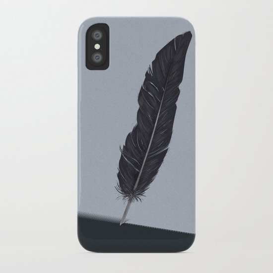 Feathered Edge. iPhone Case
