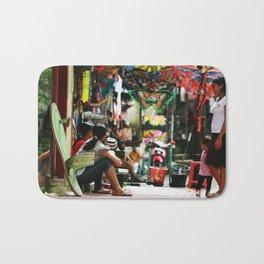 Bali - Women in Market Bath Mat