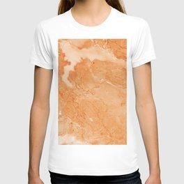 Brown & Beige Marble T-shirt