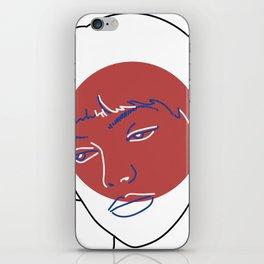 Nana (Vivre Sa Vie - Jean-Luc Godard) iPhone Skin